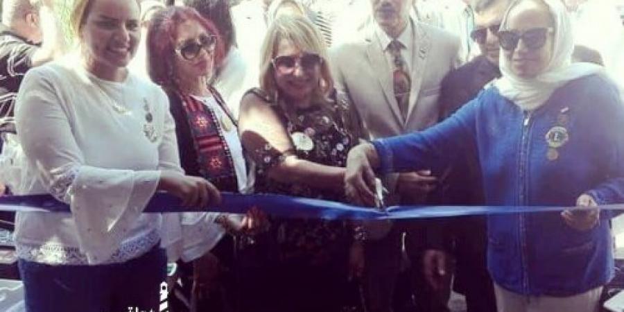 """نادى إسكندرية ليونز ميريت يفتتح معرضه الأول لدعم المشروعات الصغيرة ضمن فعاليات مبادرة """"إسكندرية بلا فقر"""""""