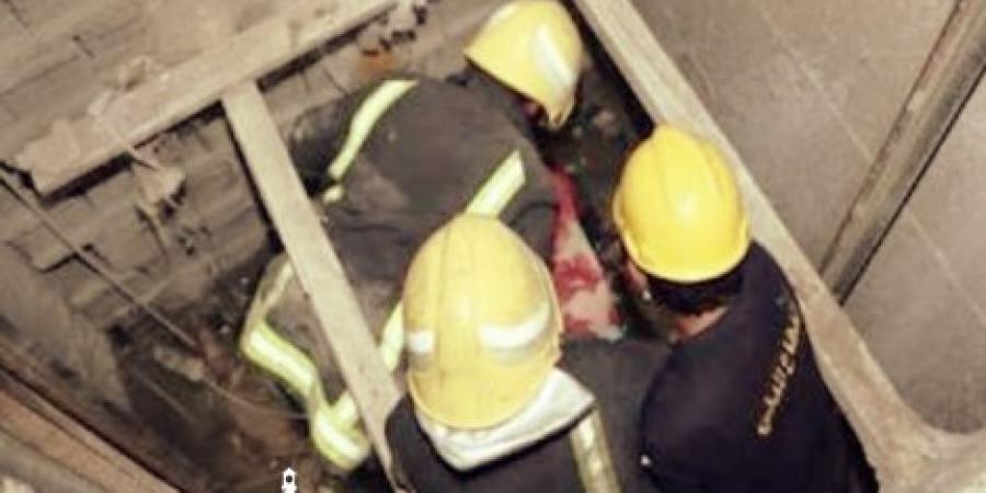 سقوط مصعد بعقار رقم 45 شارع زاوية الأعرج بالإسكندرية أسفر عن حالات إصابة