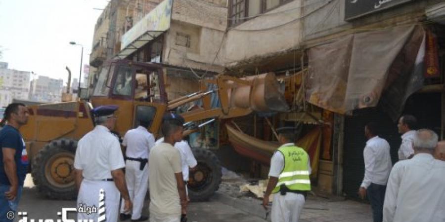 حملة أمنية مكبرة بدائرة قسمي شرطة العطارين ومحرم بك في الإسكندرية