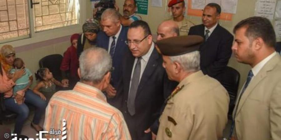 """محافظ الإسكندرية يفتتح المبادرة الرئاسية للكشف عن فيروس سي """" ١٠٠ مليون صحة """""""