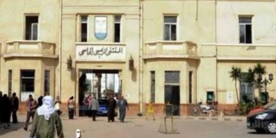 المستشفى الرئيسي الجامعي بالإسكندرية تستقبل فتاة مصابة بحالة إعياء إثر تناولها مادة غير معلومة لحزنها علي وفاة والدتها