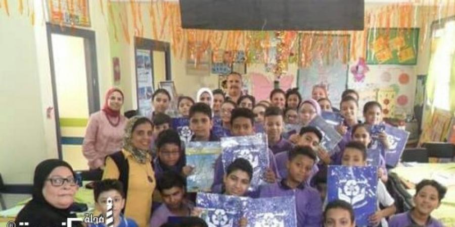 *شركة نهضة مصر و توعيه طلاب المدارس بالإسكندرية