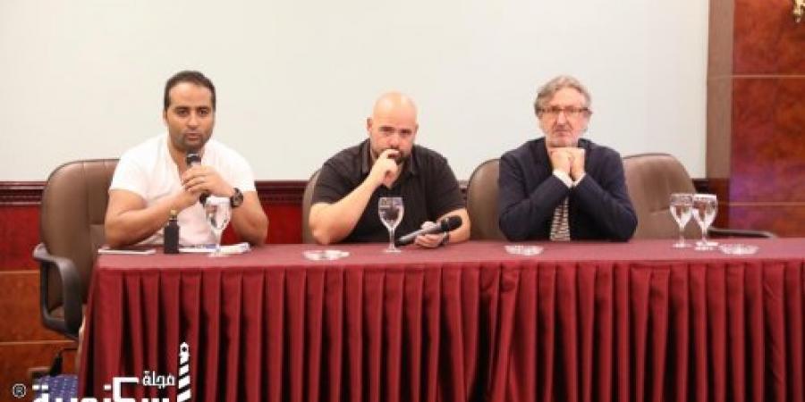 سبياستيان هارو: فى الإسكندرية السينمائي السينما والمسرح مثل الإدمان