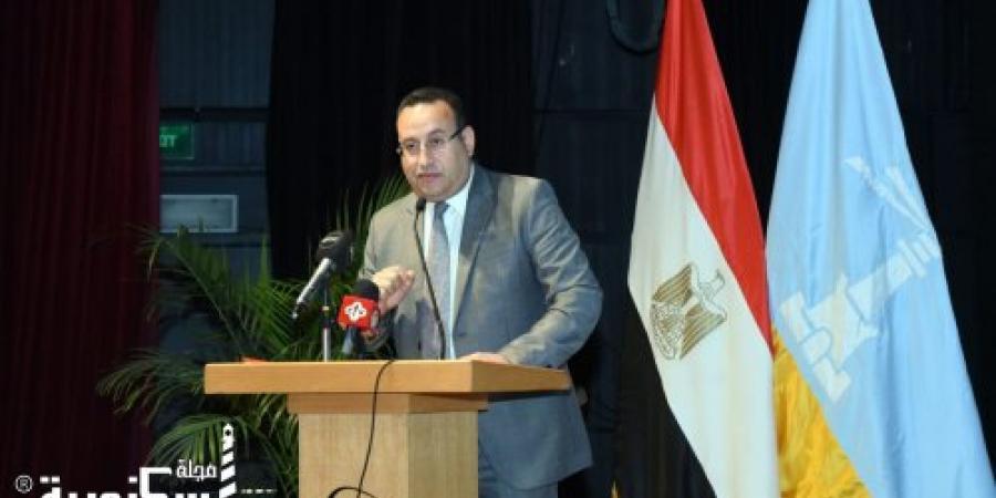 افتتاح جلسة استماع لمشروع المخطط الاستراتيجي العام لمدينة الإسكندرية