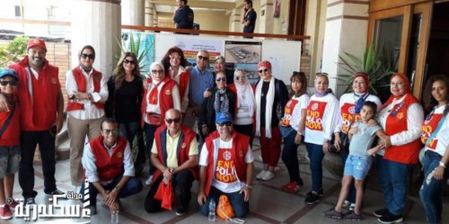 روتارى مصر يحتفل باليوم العالمى لمحاربة شلل الأطفال برعاية اليونيسف