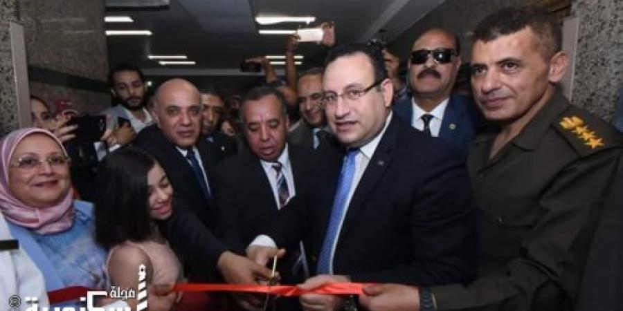 محافظ الإسكندرية يفتتح أعمال تطوير مستشفي العامرية العام