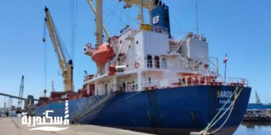 تطهير وتعقيم السفن والأرصفة لمواجهة كورونا بالإسكندرية