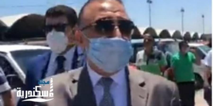 """محافظ الإسكندرية : """"ده مش موقف ده سوق"""" خلال جولة بالموقف الجديد"""