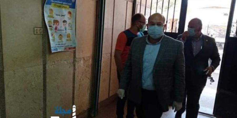 نائب محافظ الجيزة يتفقد مستشفى أوسيم المركزي