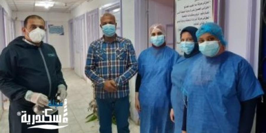 مغادرة مستشار محافظ الإسكندرية مستشفى كفر الدوار بعد علاجه من كورونا