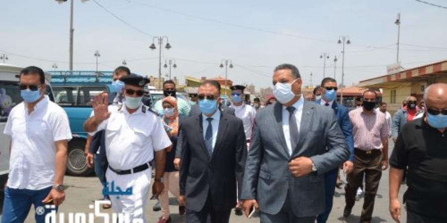للمرة الثانية محافظ الإسكندرية يشن حملة مكبرة لإزالة التعديات بالموقف الجديد