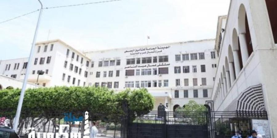 وزيرة الصحة تتفقد مستشفى جمال عبد الناصر بالإسكندرية